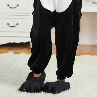 Kigurumi Animal Shoes Black-UNIQSO