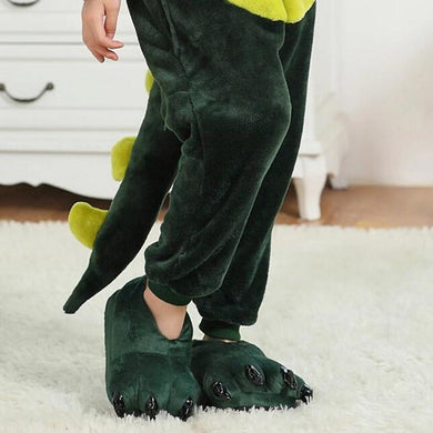 Kigurumi Animal Shoes Green-UNIQSO