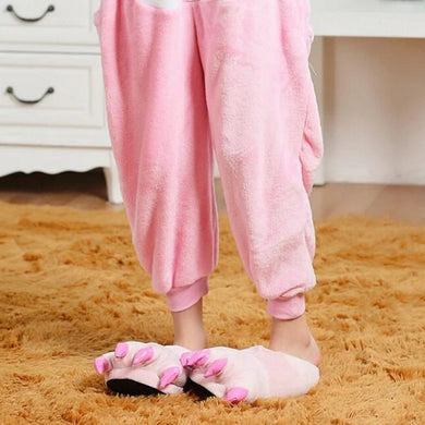 Kigurumi Animal Shoes Pink-UNIQSO