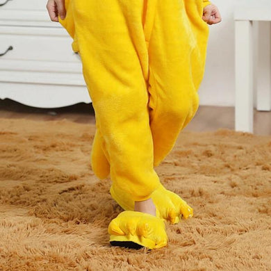 Kigurumi Animal Shoes Yellow-UNIQSO
