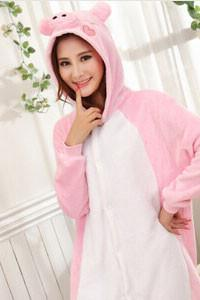 Kigurumi Onesie Pink Pig Animal-UNIQSO