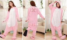 Load image into Gallery viewer, Kigurumi Onesie Pink Pig Animal-UNIQSO