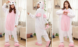 Kigurumi Onesie Pink Unicorn Animal-UNIQSO
