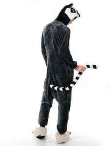 Kigurumi Onesie Long Tail Cat-UNIQSO