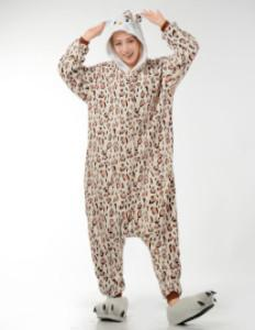 Kigurumi Onesie Leopard Hello Kitty-UNIQSO
