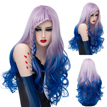 Load image into Gallery viewer, Lolita Wig - Lilac Waterfall Braided