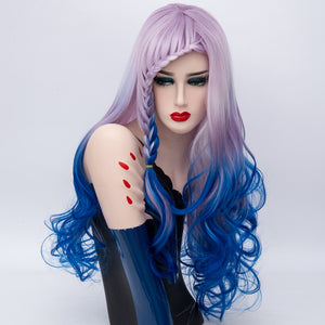Lolita Wig - Lilac Waterfall Braided