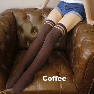 Japanese School Girl Hose Stockings-UNIQSO