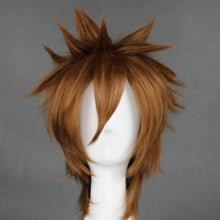 Load image into Gallery viewer, Katekyo Hitman Reborn - Sawada Tsunayoshi-cosplay wig-Animee Cosplay