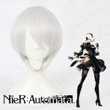 Load image into Gallery viewer, NieR:Automata/2B-cosplay wig-Animee Cosplay