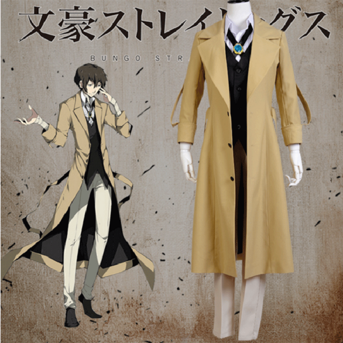 Stray Dogs-Dazai Osamu-costume-Animee Cosplay