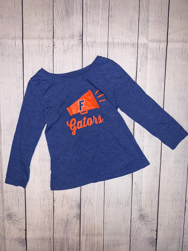 National Collegiate UF Tee- size 4T