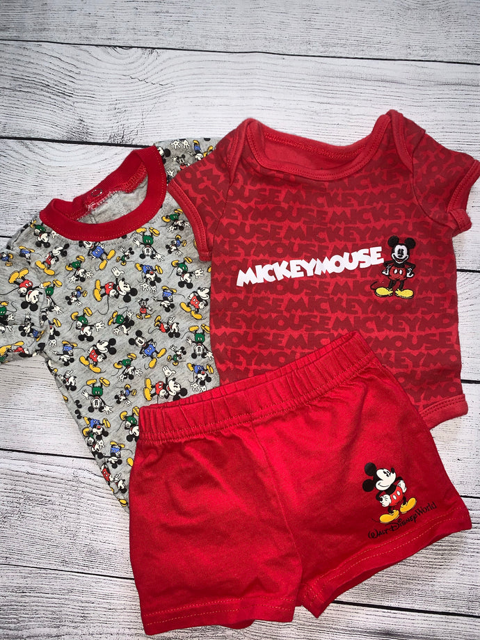Disney Parks 3 piece Set-size 3 months