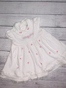 Little Me Dress-size 9 months