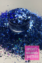 Load image into Gallery viewer, Blue Mix Glitter | Blue Christmas Glitter | Mix Glitter | Premium Quality Glitter |  Glitter
