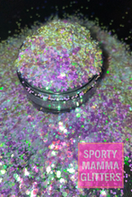 Load image into Gallery viewer, Blue Purple Pink Color Shift | Color Shift Glitter | Baby Showers Color Shift | Premium Quality Glitter | Chunky Glitter | Bulk Glitter