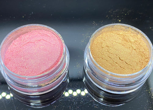 Metallic Mica Powder | Light Pink Pigment Powders | Gold Pigment Powders | Mica Powders | Pigment Powder