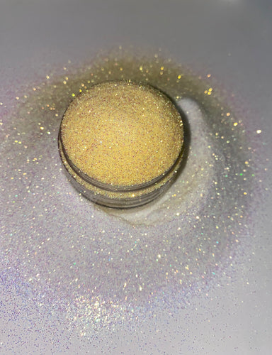 UV Glitter White to Yellow | Vanishing Sunlight | Premium Quality Glitter | Fine Glitter | Bulk Glitter