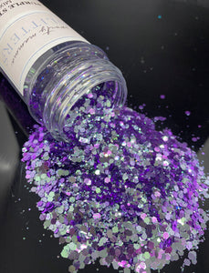 Purple Gray Color Shift | Purple Storm | Mix Glitter | Premium Quality Glitter |  Glitter | Bulk Glitter | 2oz Glitter