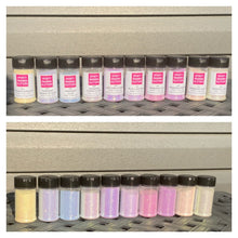Load image into Gallery viewer, UV Glitter White to Plum | Vanishing Plum | Premium Quality Glitter | Fine Glitter | Bulk Glitter