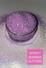 Load image into Gallery viewer, UV Glitter White to Purple | Vanishing Purple | Premium Quality Glitter | Fine Glitter | Bulk Glitter