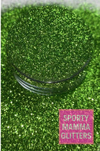 Load image into Gallery viewer, Peridot Green Glitter | Light Green Glitter | Metallic Glitter | Green Glitter | Premium Quality Glitter | Fine Glitter | 2oz Glitter