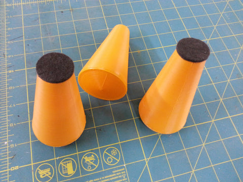 Digital CG machine cones