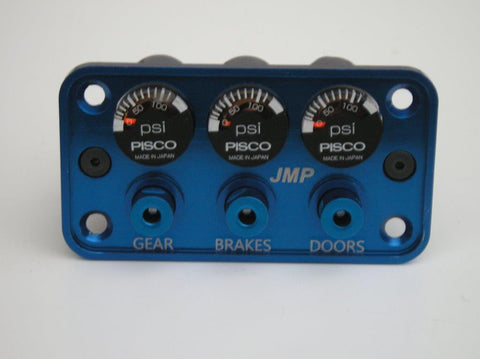JMP integrated pneumatic panel