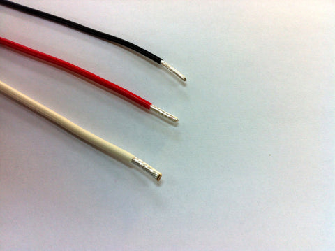 MIL spec PTFE silver cable