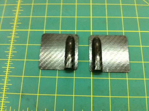 Ultimate Servo Covers carbon fiber servo hatch