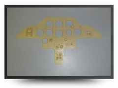 Diamond resin instrument panel