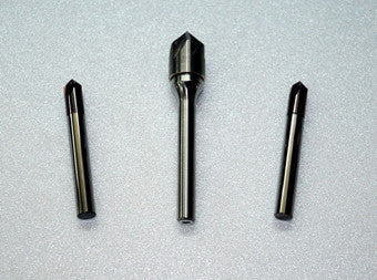 Titanium oxyde coated carbide countersink