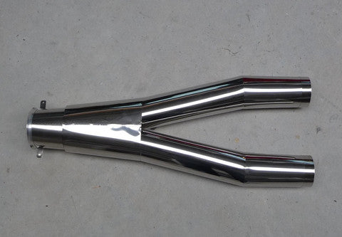 Rafale 1/7 Stainless Steel Y Tail Pipe