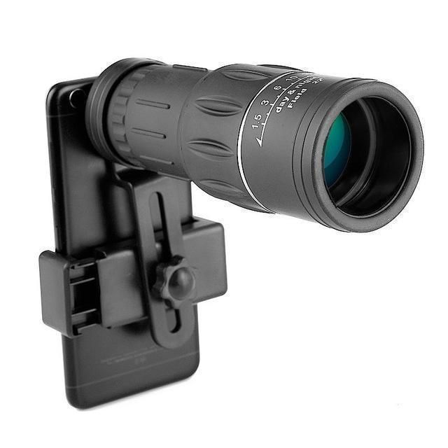 5ZOOM™ - High Power Prism Monocular Telescope 5ZOOM™ - High Power Prism Monocular Telescope TELESCOPE + PHONE CLIP