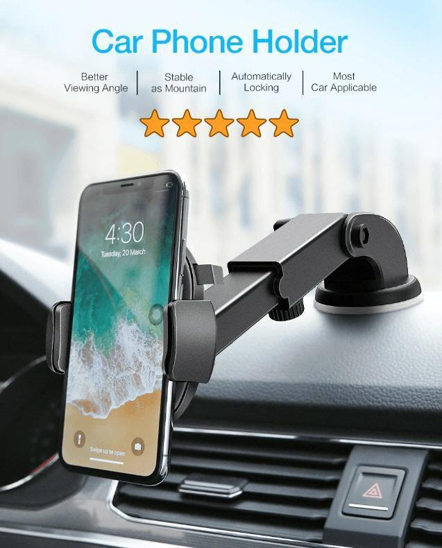 AUTOCAR™ CAR PHONE HOLDER AUTOCAR™ CAR PHONE HOLDER