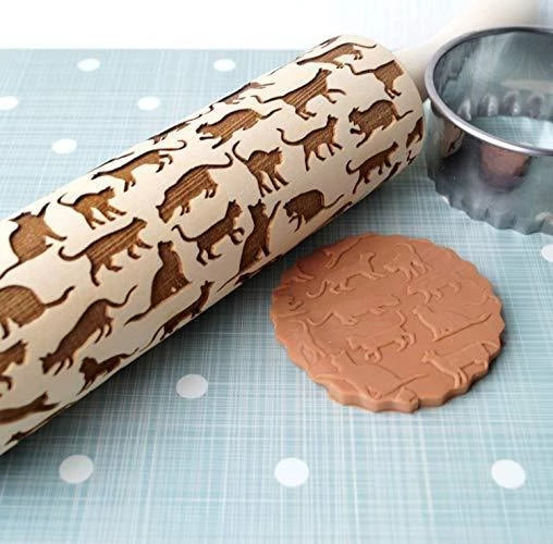 Christmas Embossing Rolling Pins (New 2019)