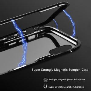 MAG™ - LUXURY MAGNETIC ADSORPTION METAL CASE FOR IPHONE MAG™ - LUXURY MAGNETIC ADSORPTION METAL CASE FOR IPHONE FULL WHITE / FOR IPHONE 7
