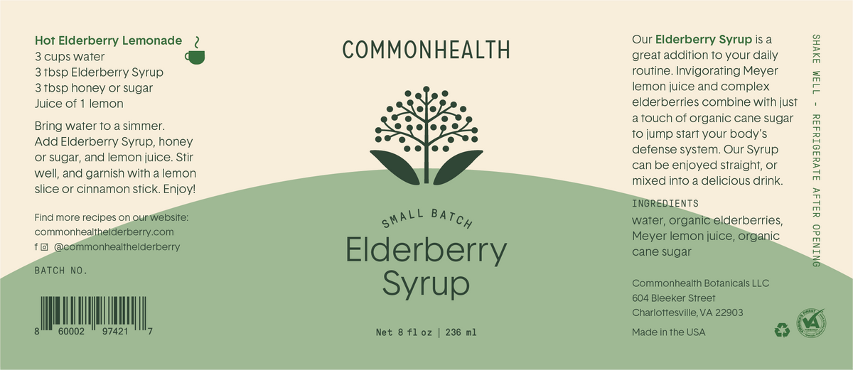 Elderberry Syrup - commonhealth elderberry
