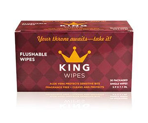 King Wipes Flushable Wipes with Aloe Vera
