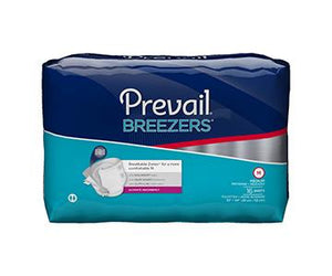 Prevail Breezers Traditional Briefs - Ultimate Absorbency