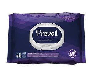 "Prevail Premium Quilted Wipes - White - 12"" x 8"""