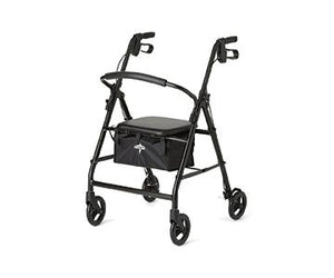 "Rollator with 6"" Wheels With Padded Backrest and Seat"