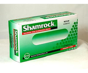 Shamrock Synthetic Vinyl Powder Free Exam Gloves