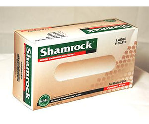 Shamrock Nitrile Powder Free Exam Gloves