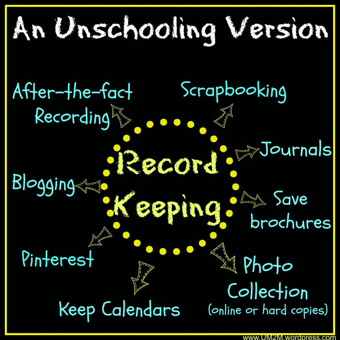 Unschoolers and Record Keeping