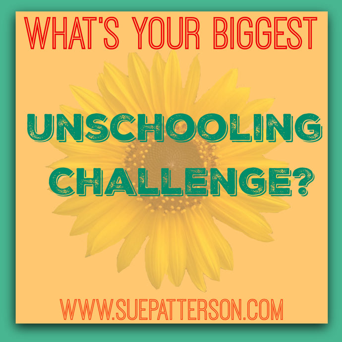What is Your Biggest Unschooling Challenge?