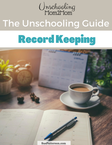 Unschooling Guide - Record Keeping