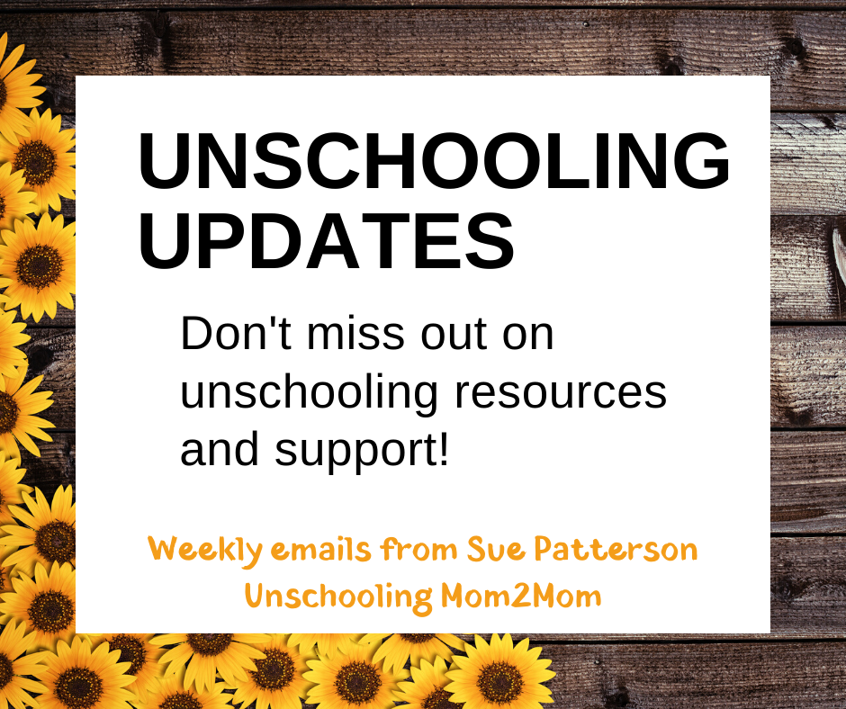Unschooling Updates - Weekly Email