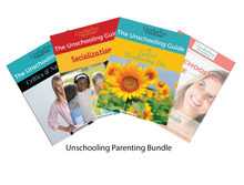 Load image into Gallery viewer, The Unschooling Guide: Parenting Bundle (Buy 4 Get 1 Free)