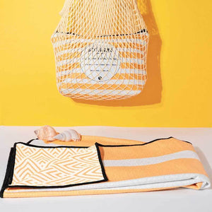 The Burleigh  Luxury Sand Free Beach Towel with carry bag